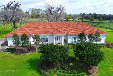 42+ Acre Ocala Equestrian Estate – Close TO HITS and World Equestrian Center