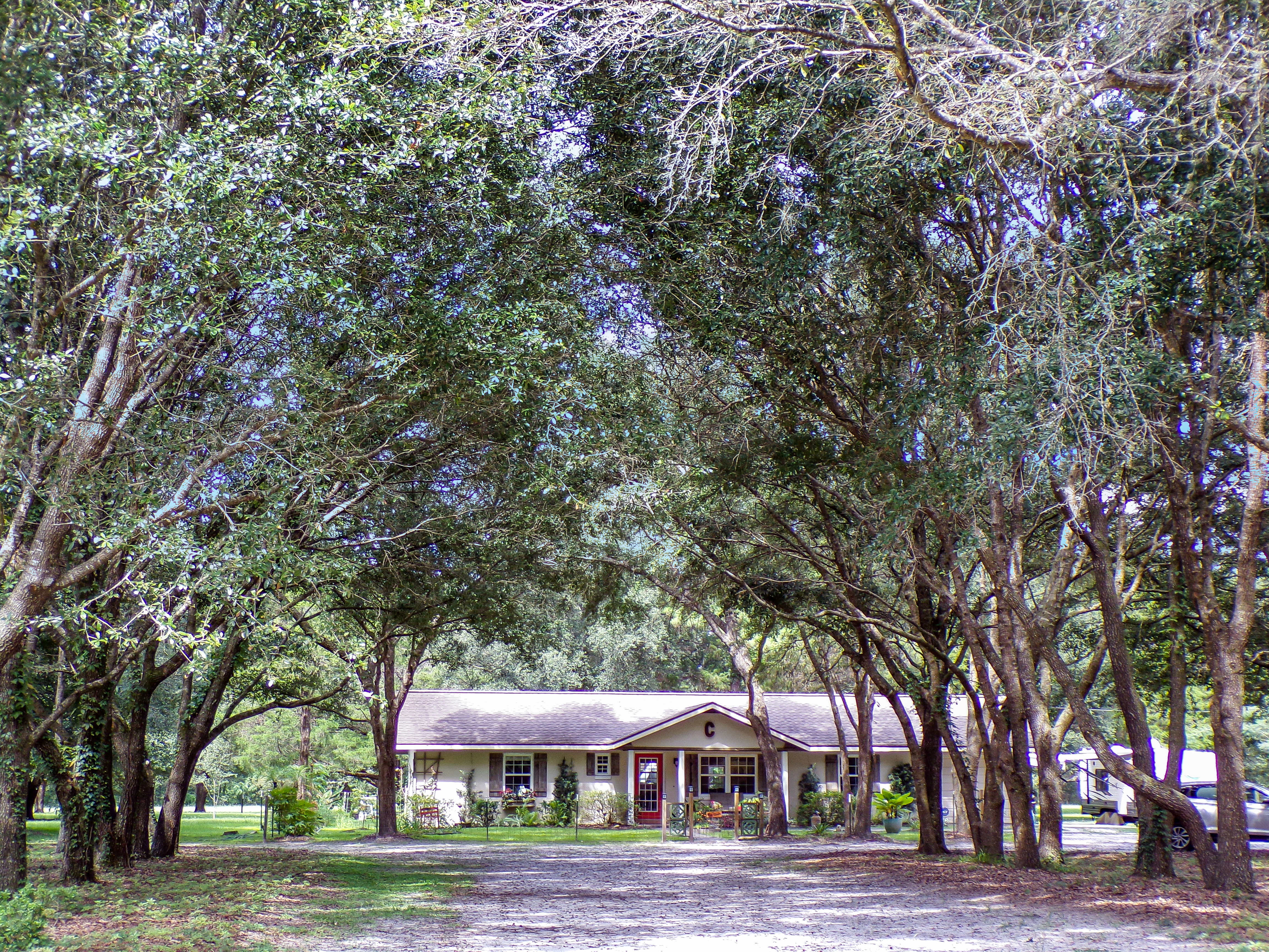 Beautifully updated 3/2 home w/ cleared acreage & barn